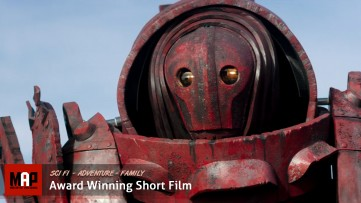 Sci-Fi Short Film ** A CRIMSON MAN ** [ Award Winning ] Adventure Family Movie By Mike Pappa